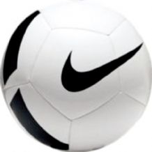 Nike Team Training Football White/Black - Size 3, 4, 5
